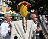Célébration de la broderie et du borscht_12 image libre de droits