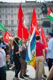 Célébration de la libération tenue à Milan le 25 avril 2014 Images libres de droits