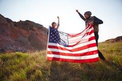 Célébration de la liberté américaine Image stock