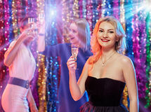 Célébration de la nouvelle année Image stock