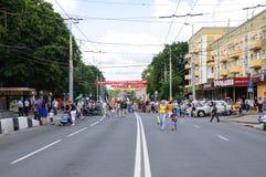 Célébration de la ville. Kaliningrad Photo libre de droits