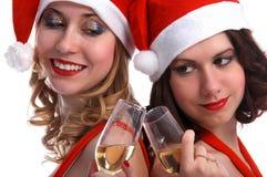 célébration de Noël Photos libres de droits
