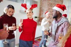Célébration de Noël Images stock