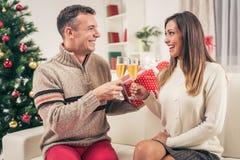 Célébration de Noël ou de la nouvelle année Images stock
