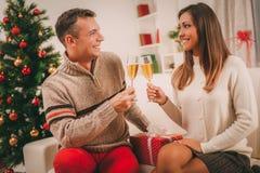 Célébration de Noël ou de la nouvelle année Photos stock
