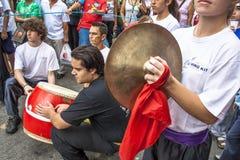 Célébration de nouvelle année chinoise au Brésil Photographie stock libre de droits