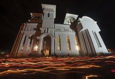 Célébration de Pâques en Roumanie Photos stock