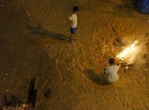 Célébration de Retard-Ba-Omer Images libres de droits