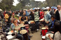 Célébration 420 de San Francisco 2015 Image stock