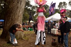 Célébration 420 de San Francisco 2015 Images libres de droits