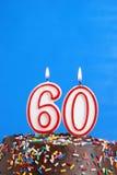 Célébration de soixante ans Photo stock