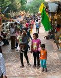 Célébration de Songkran au Cambodge 2012 Images libres de droits