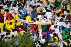 Célébration de Timkat en Ethiopie Photographie stock libre de droits