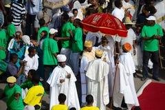 Célébration de Timkat en Ethiopie Image libre de droits