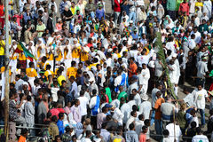 Célébration de Timkat en Ethiopie Photos libres de droits