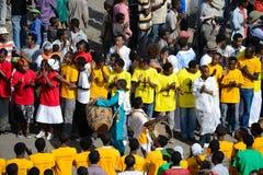 Célébration de Timkat en Ethiopie Images libres de droits