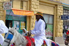 Célébration de Timkat en Ethiopie Photo stock