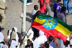Célébration de Timkat en Ethiopie Photographie stock