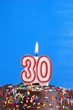 Célébration de trente ans Photo stock