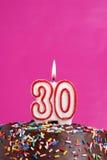 Célébration de trente ans Photos libres de droits
