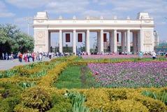 Célébration de Victory Day à Moscou Photographie stock