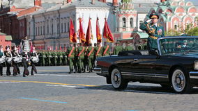 Célébration de Victory Day banque de vidéos