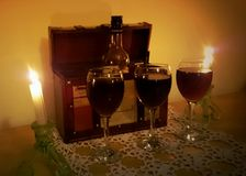 Célébration de vigne Photographie stock