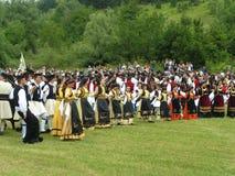 Célébration de Vlach en Grèce Image stock