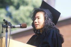 Célébration des diplômés Photographie stock libre de droits