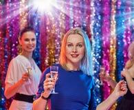 Célébration des femmes de nouvelle année Photo stock