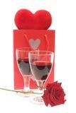 Célébration des Valentines Image libre de droits