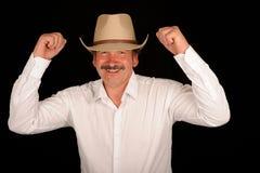 Célébration du cowboy Photographie stock libre de droits