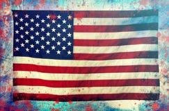 Célébration du Jour de la Déclaration d'Indépendance aux USA Photos stock