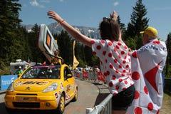 Célébration du Tour de France Image libre de droits