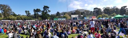 Célébration 420 en San Francisco California Images libres de droits