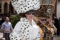 Célébration homosexuelle de défilé de fierté de Brighton photographie stock libre de droits