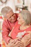 Célébration mûre de couples Image stock
