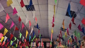 Célébration multicolore images stock