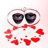 Célébration romantique de vacances Image libre de droits