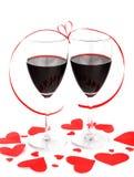 Célébration romantique de vacances Images stock