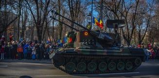 Célébration roumaine 2016 de jour national Photo libre de droits