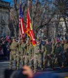 Célébration roumaine 2016 de jour national Photos libres de droits