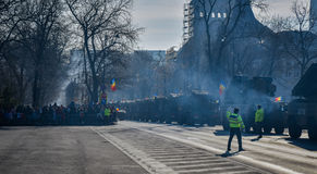 Célébration roumaine 2016 de jour national Image libre de droits