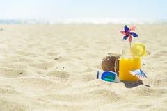 Célébration sur la plage d'été Images libres de droits