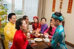Célébration vietnamienne de nouvelle année photos libres de droits
