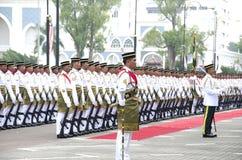 Célébrations 2011 de Jour de la Déclaration d'Indépendance de la Malaisie cinquante-quatrième Images stock