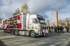 Célébrations de Jour de la Déclaration d'Indépendance en Pologne Photo stock