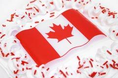 Célébrations de jour du Canada Photo libre de droits
