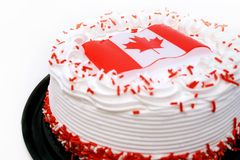 Célébrations de jour du Canada Image libre de droits