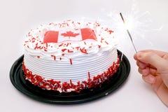 Célébrations de jour du Canada Photographie stock libre de droits